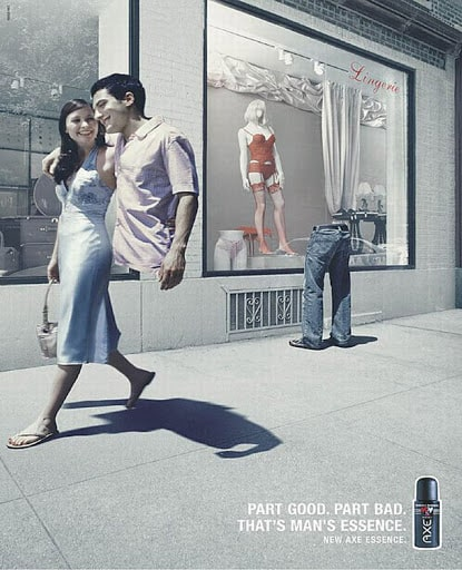 Bad advertising examples — Axe