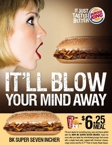 Bad advertising examples — KFC