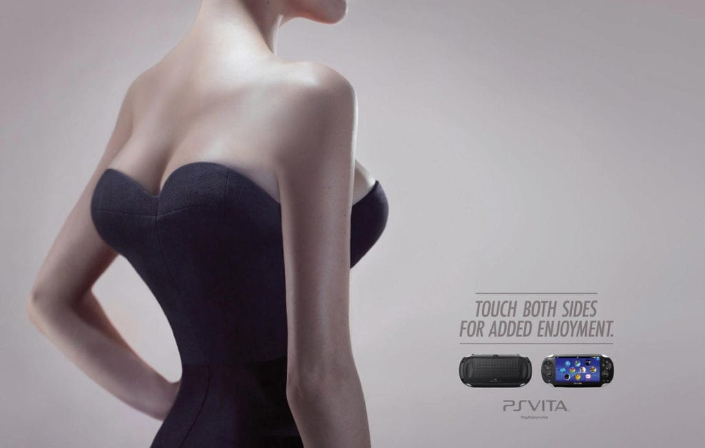 Bad advertising examples — PS vita