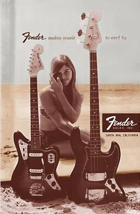 Emotional appeal advertising — Fender on the beach