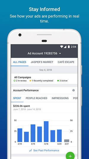 Facebook ad best practices — Ads Manager app