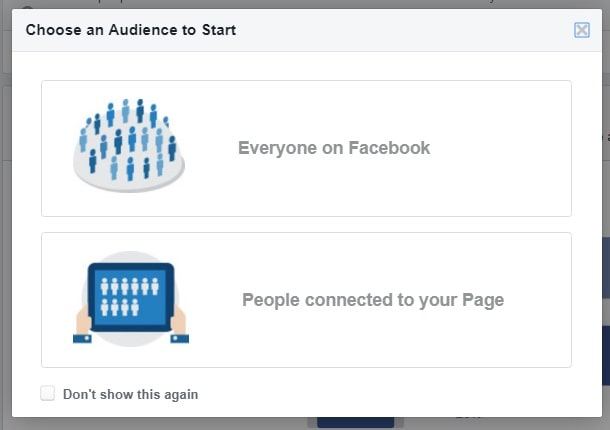Facebook ads relevance score — Audience Insights