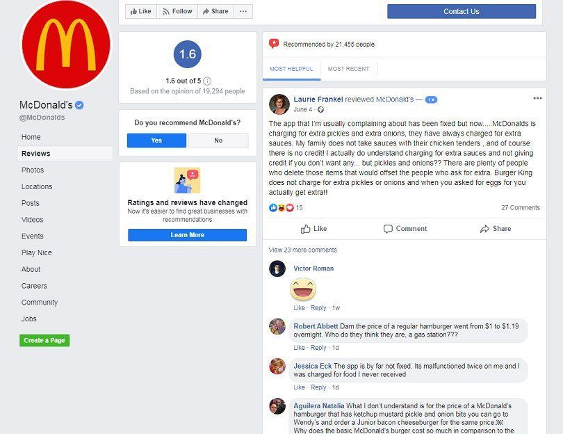 How to advertise on Facebook for free — MacDonald's reviews