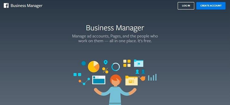 How to use Facebook Business Manager - home page