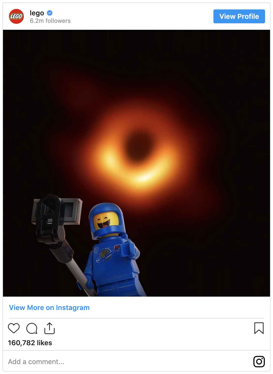 Instagram ads examples — LEGO
